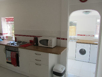 Picture of kitchen and utilty area